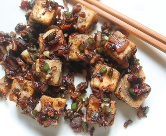 Chinese Salt and Pepper Tofu Recipe - Restaurant Style Recipes
