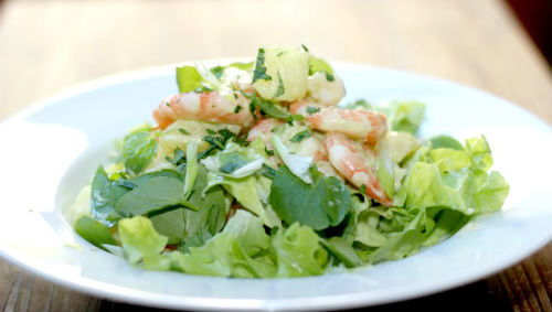 In the mood for Prawn, Potato and Watercress Salad