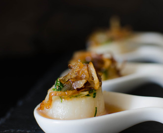 {Recipe} Seared Scallops with Sweet Fish Sauce