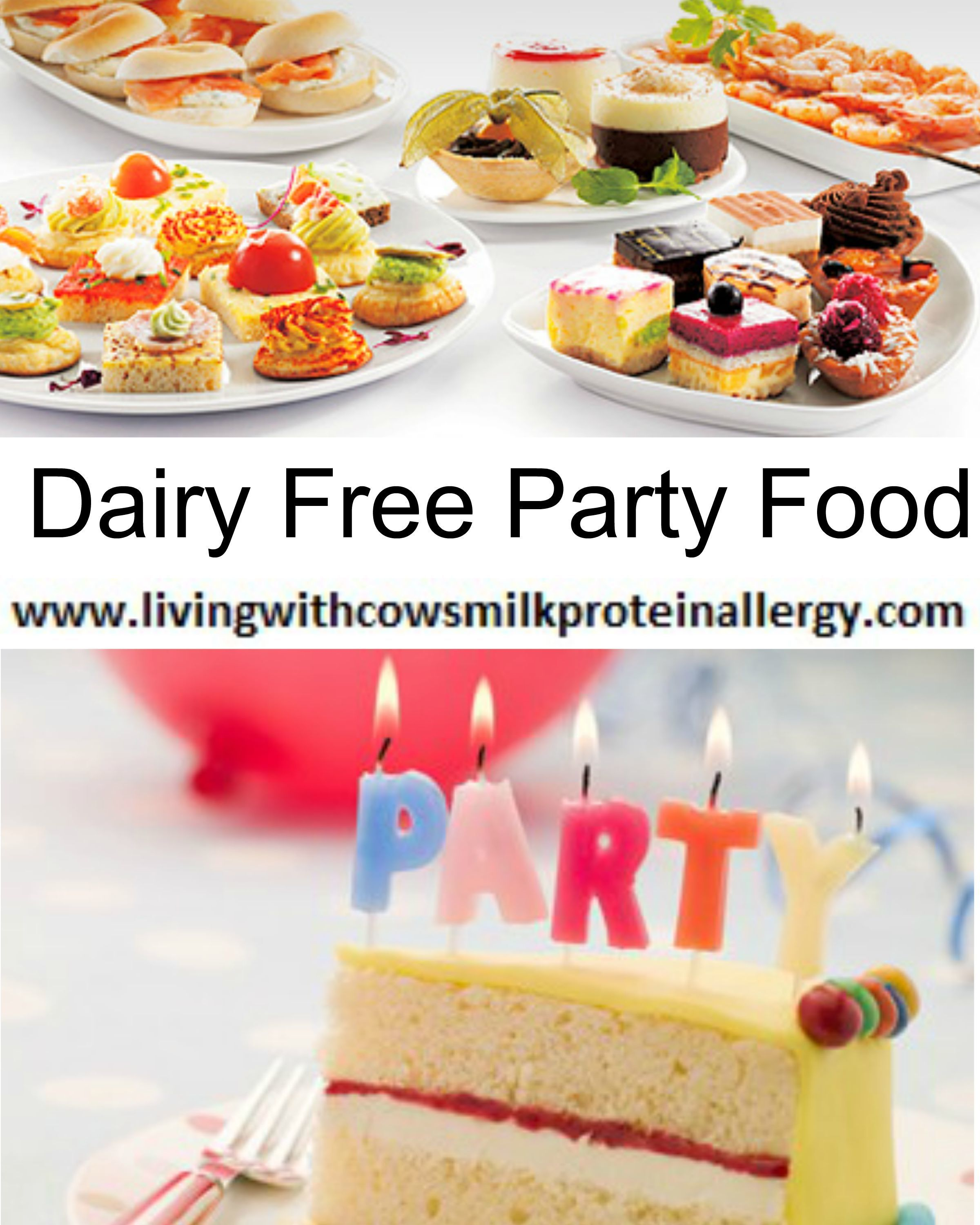 Dairy Free Party Food Available In Most Supermarkets (UK)