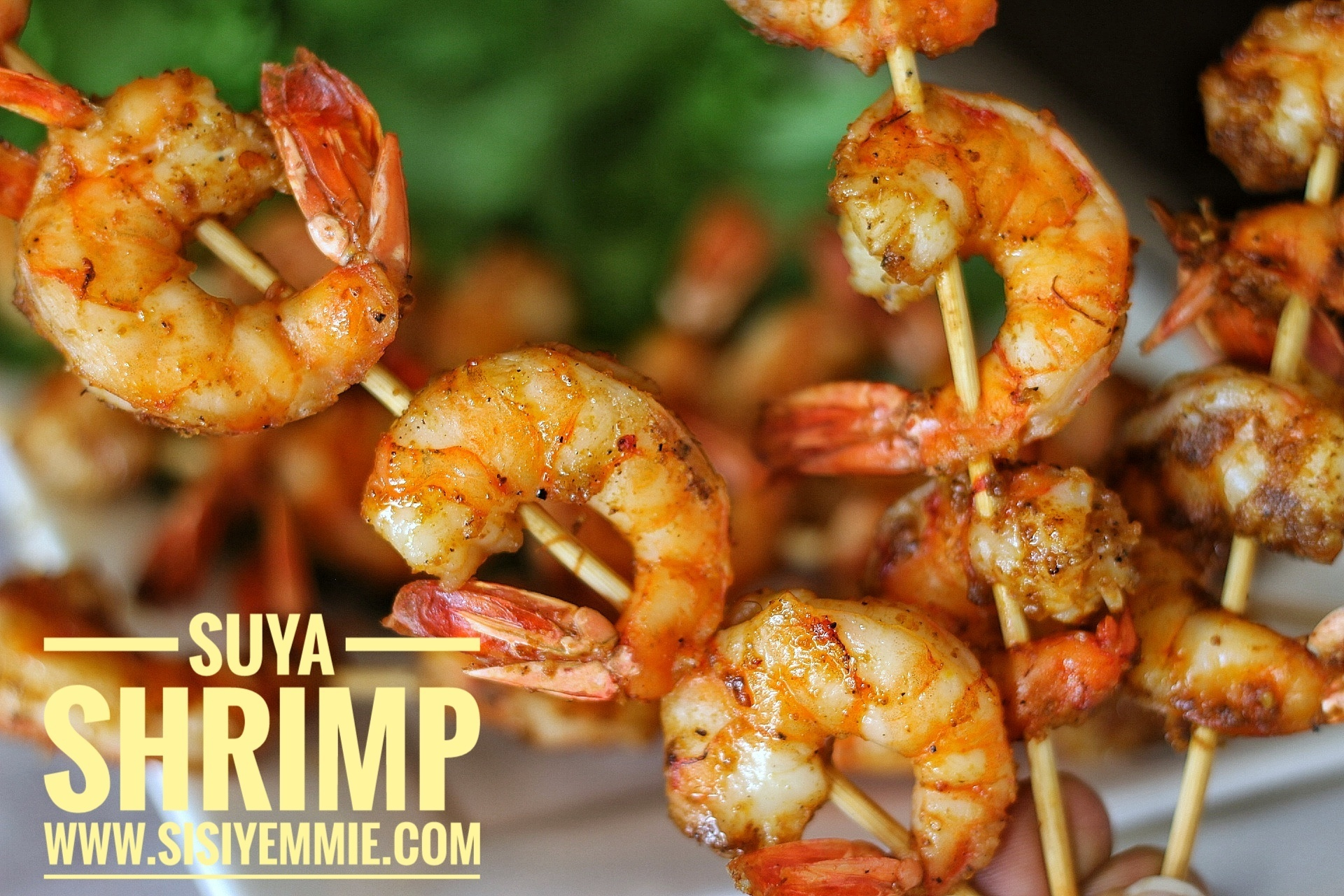 SUYA SHRIMP RECIPE | OVEN BAKED PRAWNS
