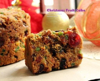 Christmas fruit cake 圣诞干果蛋糕