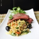 Moroccan Beef & Pearl Couscous Salad