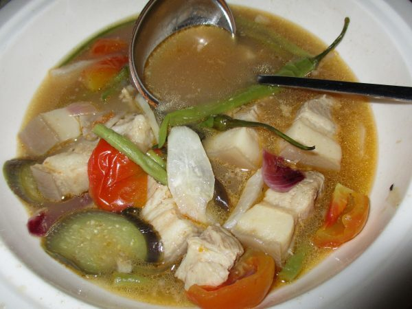 Pork Sinigang with Vegetable Variety