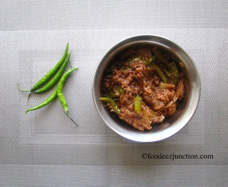 Hari Mirch ki Sabzi | How to Make Sabzi with Green Chillies