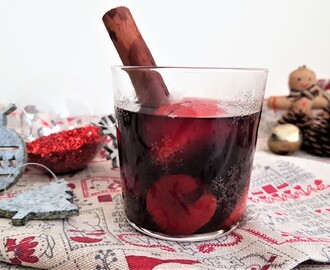 Ponche de vino tinto/ Red wine punch