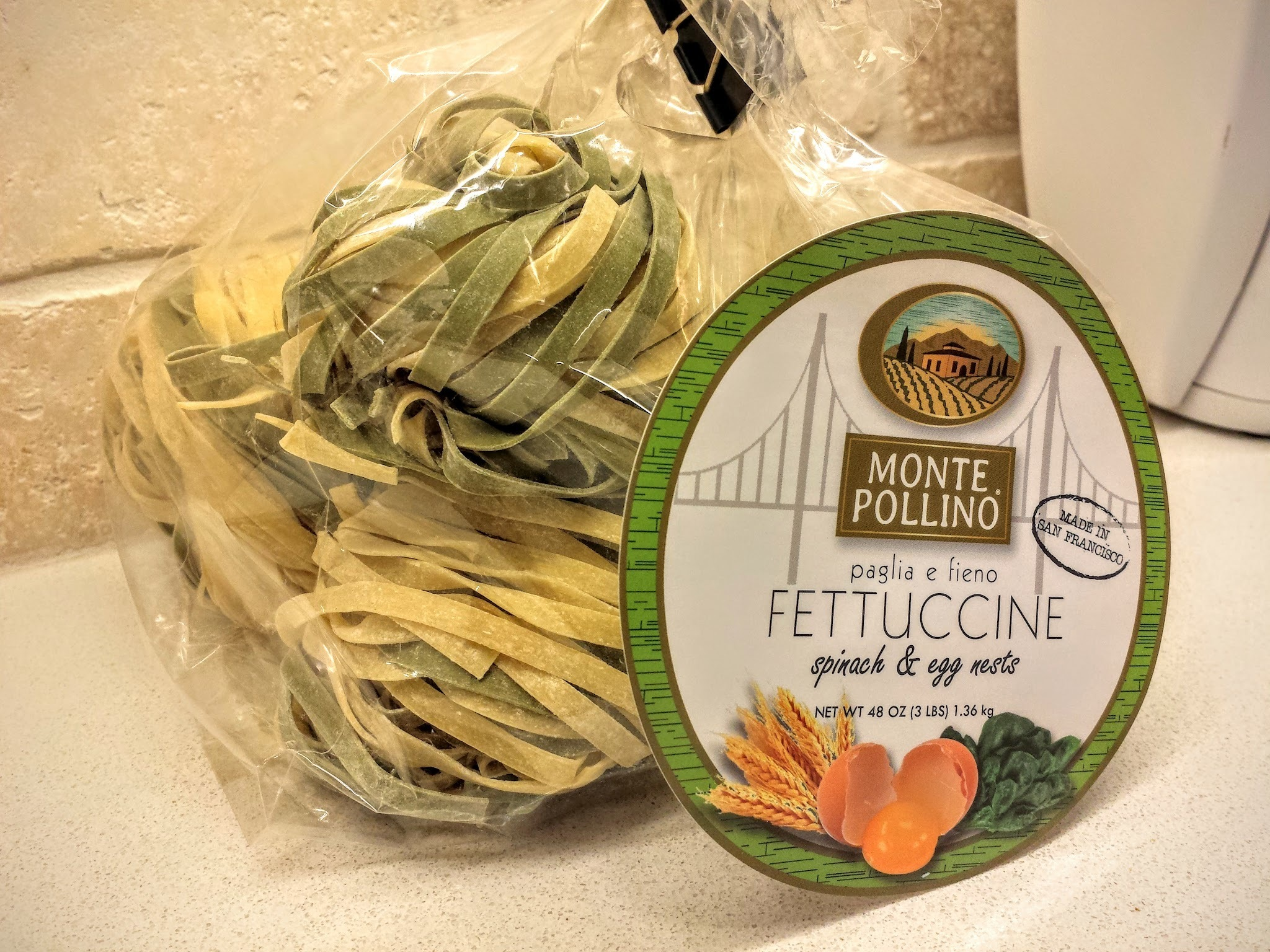 New beginnings again!  And fettuccine nests.