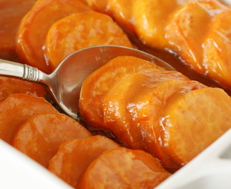 Glazed Sweet Potato Coins Recipe