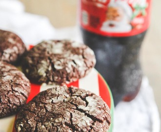 Holiday Party and Coca-Cola Brownie Crinkle Cookies