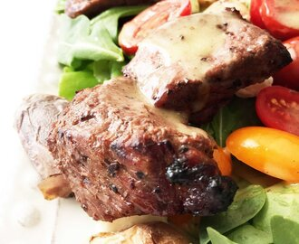 Steak & Potato Salad with Honey Mustard Vinaigrette