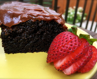 The Ultimate Chocolate Cake…