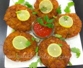 Memoni Chicken Russian Cutlet / Russian Cutlet