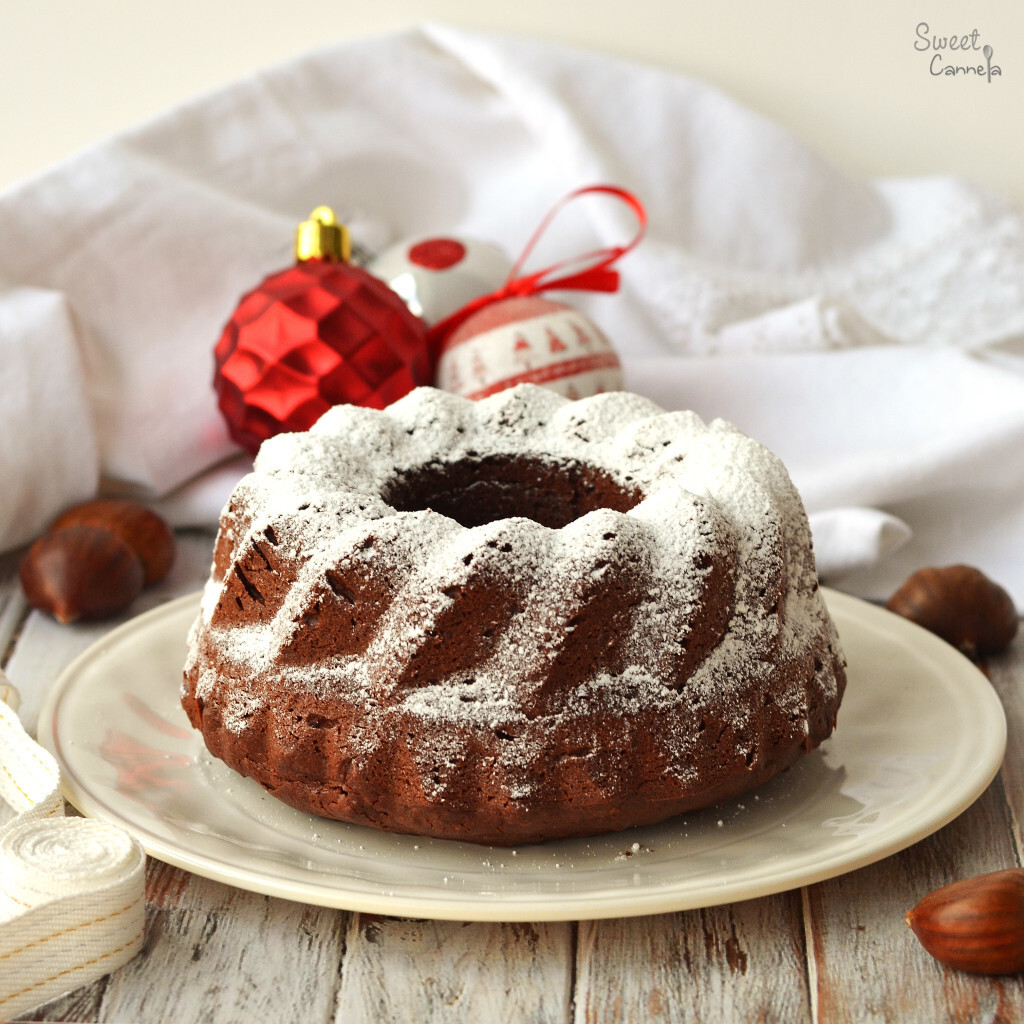 Chestnut & Chocolate Cake – Pastel de Castañas y Chocolate