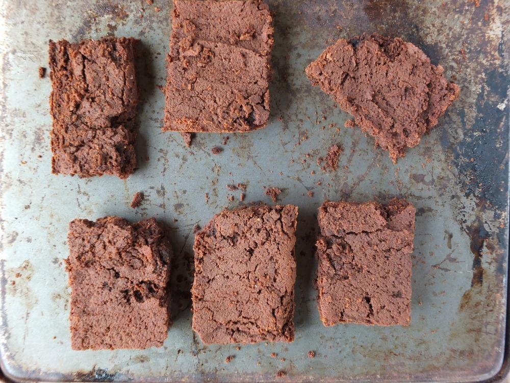 Banana Flour Brownies (paleo, nut-free, vegan)