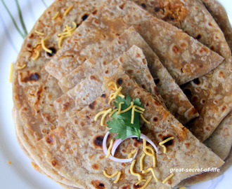 Sev Paratha - Simple paratha recipe - Kids friendly recipe