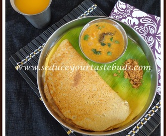 Chola Adai | Easy Breakfast Recipe