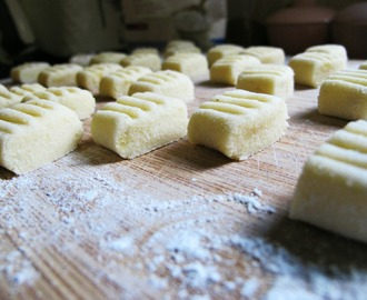 Gluten Free Gnocchi!  Big batch recipe!