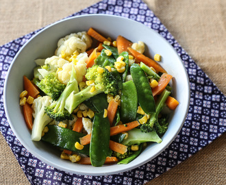 Buttered Vegetables