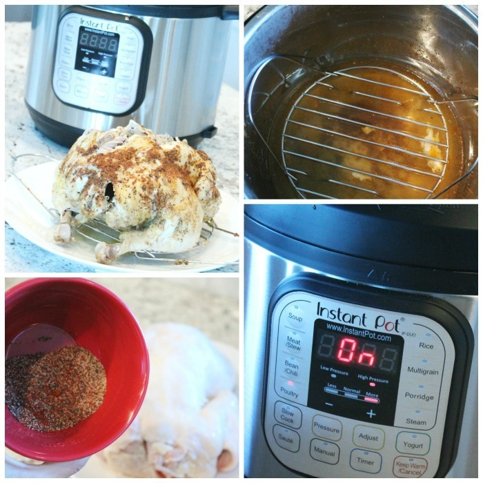 Instant Pot Whole Chicken Recipe in a Pressure Cooker!