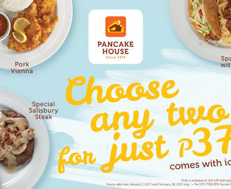 Pancake house spaghetti recipes mytaste choose any two of these pancake house dishes and pay only php 370 ccuart Gallery