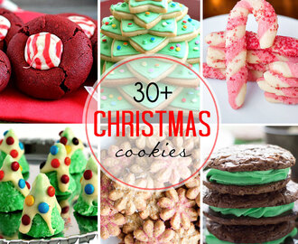 Over 30 of the Best Christmas Cookies from Your Favorite Bloggers