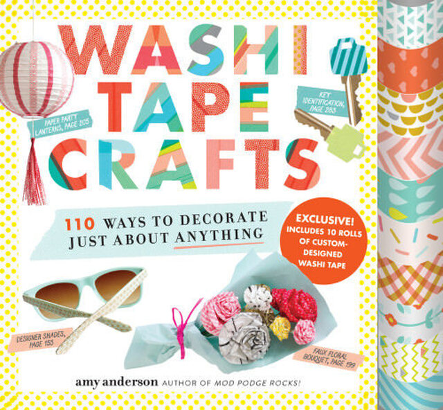 Wrapping Ideas with Washi Tape Crafts {Book Review}