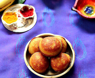 Nei Appam Recipe - Ghee Appam - Karthigai Deepam Recipes