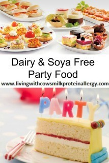 Dairy & Soya Free Party Food
