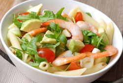 Seafood and Pasta Salad
