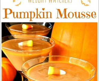 Weight Watchers Pumpkin Mousse