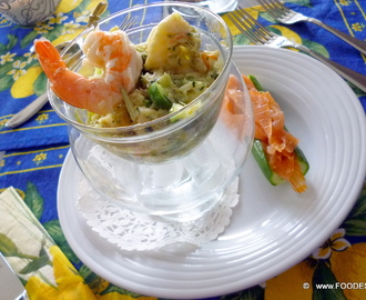 Festive FISH and SEAFOOD salad
