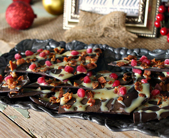 Caramel Bacon Bark and a Huge #ChristmasWeek Giveaway!