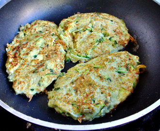 Courgette (Zucchini) Fritters