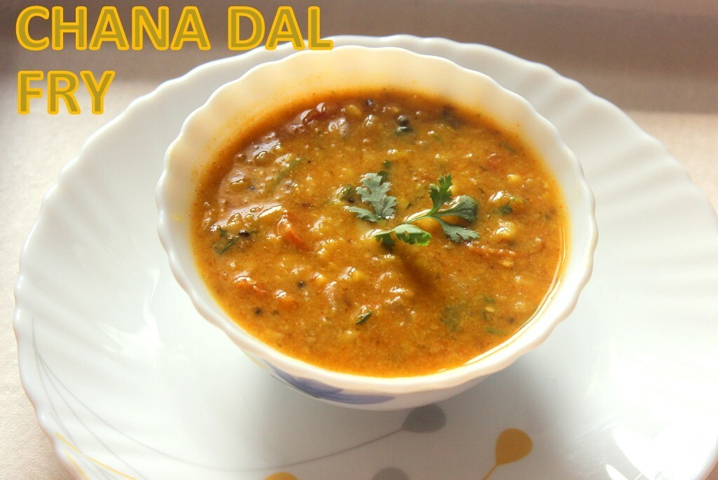 Chana dal fry recipe – How to make punjabi chana dal recipe – dal recipes