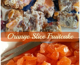 Orange Slice Fruitcake