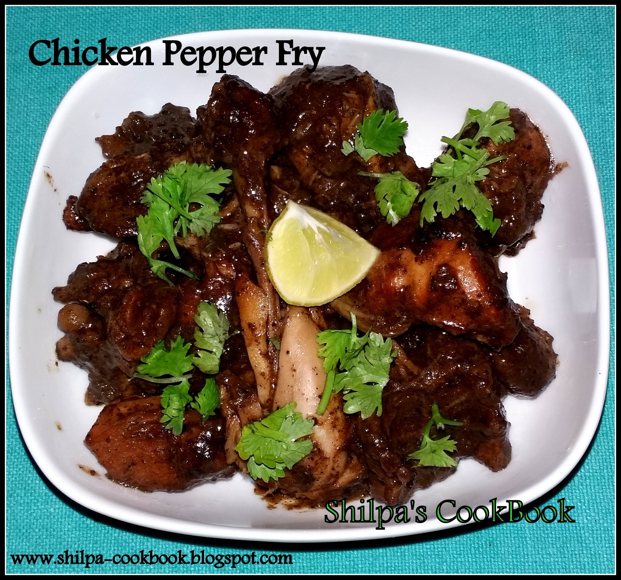 Dish #439 - Chicken Pepper Fry