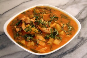 Chicken Sweet Potato Curry