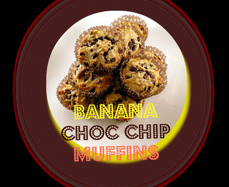 Banana Chocolate Chip Muffins - Back to Basics