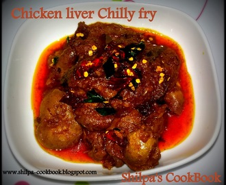 Dish #440 - Chicken liver Chilly Fry