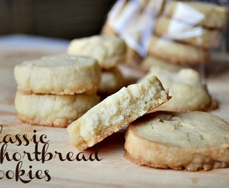 Classic Shortbread Cookies – 5 Ingredients