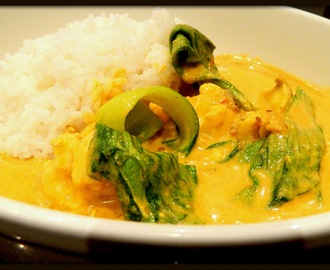 FISH CURRY IN COCONUT CREAM..