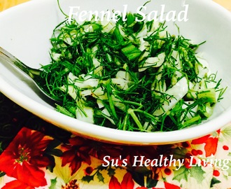 Fennel Salad ;Diabetes Friendly