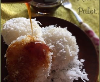 Coconut Glutinuos Rice Cake (Kueh Pulot)