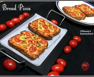 Bread Pizza - Vegetarian Version