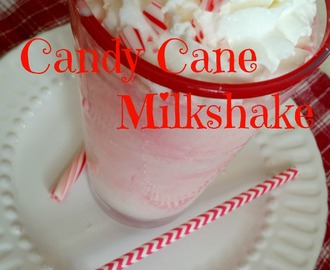 Candy Cane Milkshake (with Protein)