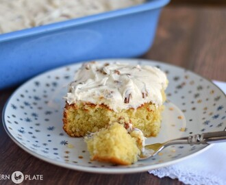 Italian Cream Cake – One of the most amazing cakes you'll ever make!