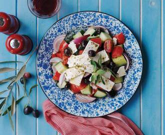 Traditional Greek Salad by Fairview