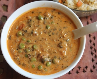 Methi Matar Malai Recipe - Methi Mutter Malai Recipe