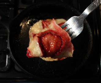 Strawberry Pancakes - Video Recipe