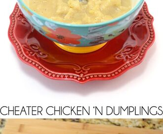 Cheater Chicken 'n Dumplings Recipe